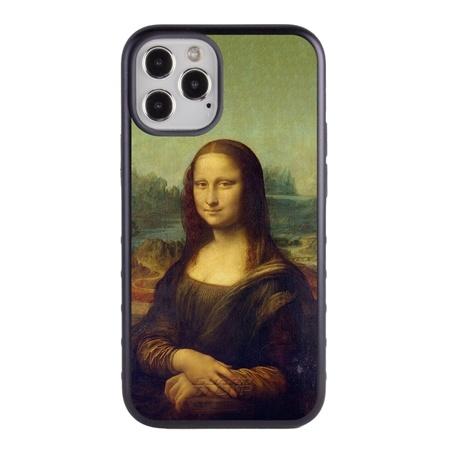 Famous Art Case for iPhone 12 Pro Max – Hybrid – (Da Vinci – Mona Lisa)