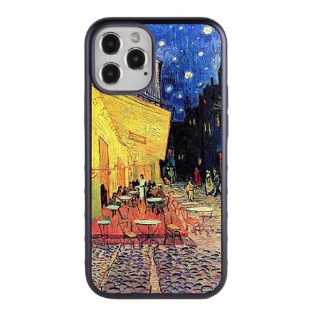 Famous Art Case for iPhone 12 Pro Max – Hybrid – (Van Gogh – Café Terrace at Night)