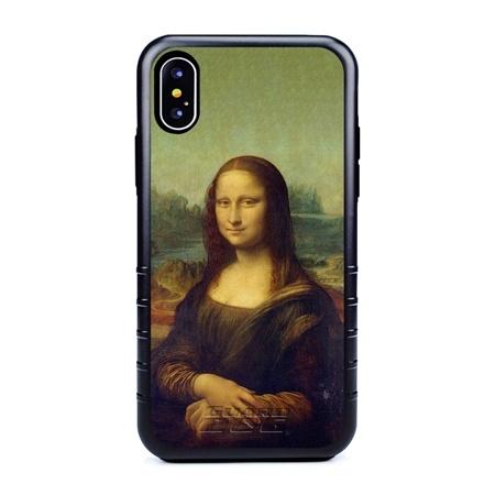 Famous Art Case for iPhone X / Xs – Hybrid – (Da Vinci – Mona Lisa)