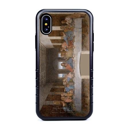 Famous Art Case for iPhone X / Xs – Hybrid – (Da Vinci – The Last Supper)