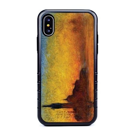 Famous Art Case for iPhone X / Xs – Hybrid – (Monet – Twilight)