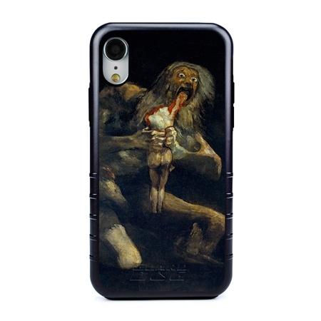 Famous Art Case for iPhone XR – Hybrid – (De Goya – Saturno Devouring his Son)
