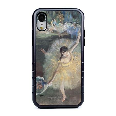 Famous Art Case for iPhone XR – Hybrid – (Degas – Fin d'arabesque)