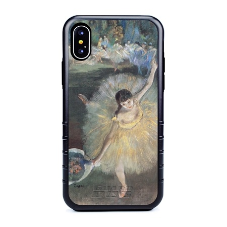Famous Art Case for iPhone Xs Max – Hybrid – (Degas – Fin d'arabesque)
