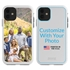 Custom Photo Case for iPhone 11 - Hybrid (White Case)