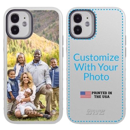 Custom Photo Case for iPhone 12 Mini - Hybrid (White Case)