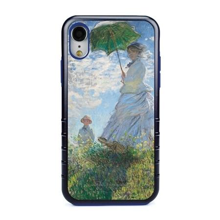 Famous Art Case for iPhone XR – Hybrid – (Monet – Woman with Parisol)