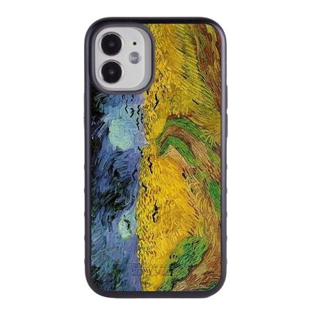 Famous Art Case for iPhone 12 Mini – Hybrid – (Van Gogh – Wheat Field)