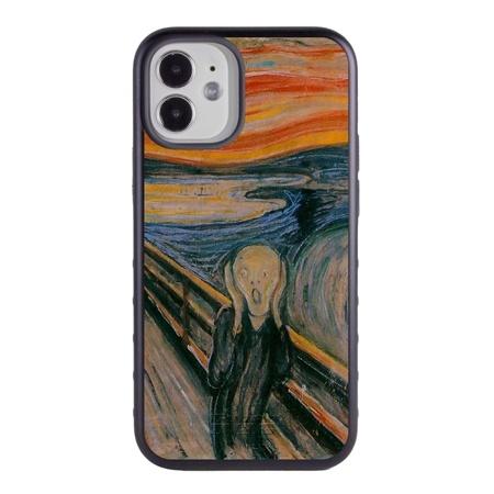Famous Art Case for iPhone 12 Mini – Hybrid – (Munch – The Scream)