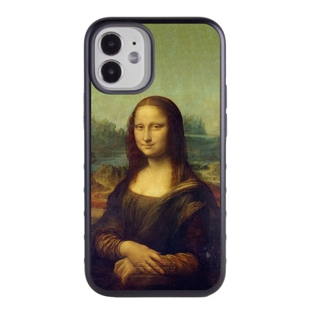 Famous Art Case for iPhone 12 Mini – Hybrid – (Da Vinci – Mona Lisa)