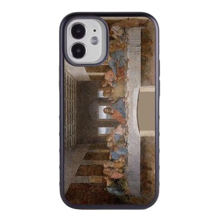Famous Art Case for iPhone 12 Mini – Hybrid – (Da Vinci – The Last Supper)
