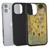 Famous Art Case for iPhone 12 Mini – Hybrid – (Klimt – The Kiss)
