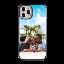 Custom Photo Case for iPhone 12 / 12 Pro - Hybrid (Black Case)