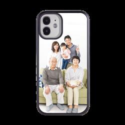 Custom Photo Case for iPhone 12 Mini - Hybrid (Black Case)