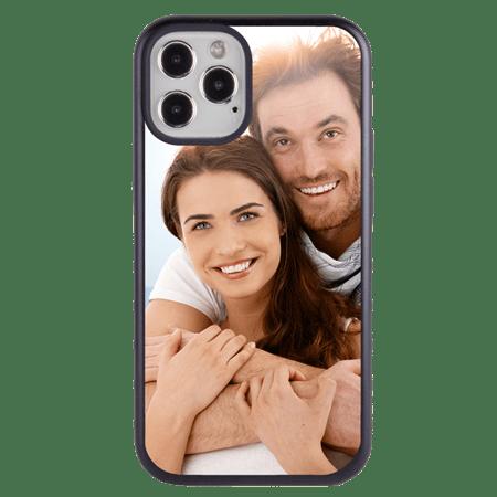 Custom Photo Case for iPhone 12 Pro Max - Hybrid (Black Case)