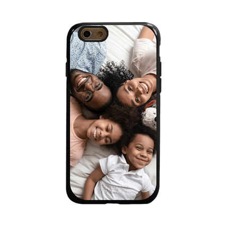Custom Photo Case for iPhone 6 / 6s - Hybrid (Black Case)