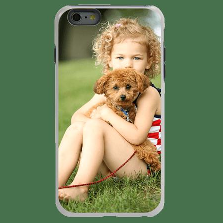Custom Photo Case for iPhone 6 Plus / 6s Plus - Hybrid (White Case)