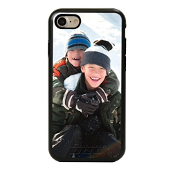 Custom Photo Case for iPhone 7/8/SE - Hybrid (Black Case)