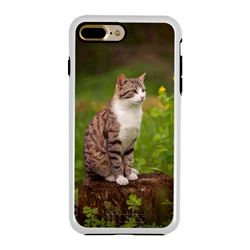 Custom Photo Case for iPhone 7 Plus / 8 Plus - Hybrid (White Case)