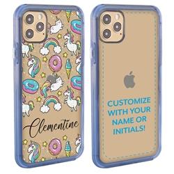 Personalized Unicorn Case for iPhone 12 / 12 Pro - Clear - Unicorn Heaven