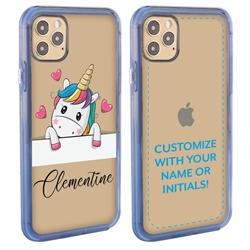 Personalized Unicorn Case for iPhone 12 / 12 Pro - Clear - Unicorn Crush